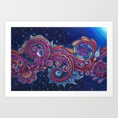 Pulled To The Light Art Print