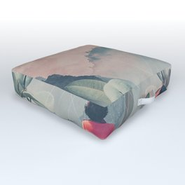 Lost in the 17th Dimension Outdoor Floor Cushion