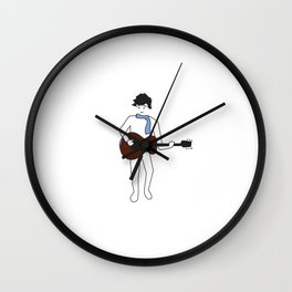 Songwriter Wall Clock