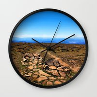 utah Wall Clocks featuring Utah by Chris Root
