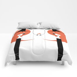1 O'Clock Love Affair Comforters
