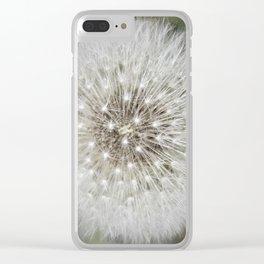 Nature Mandala 2 Clear iPhone Case