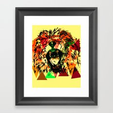 Panthera Leo Framed Art Print