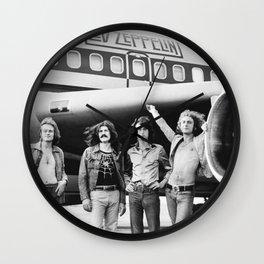 LedZeppelin Rock Band Poster Wall Clock