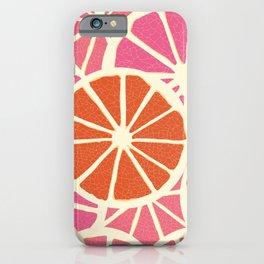 Grapefruit slices iPhone Case