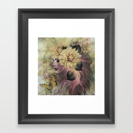 BREEZE BLOWING WITH FRAGRANCE Framed Art Print
