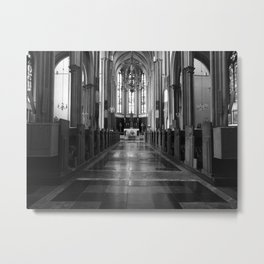 Cathedral Cartharsis Metal Print