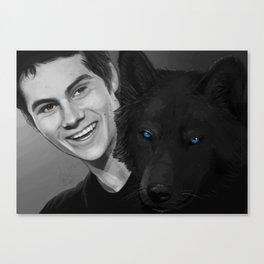 smile darling Canvas Print