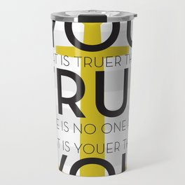Youer Than You Travel Mug