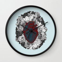 Fleeting heart Wall Clock