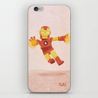 ironman iPhone & iPod Skins featuring Ironman by Popol