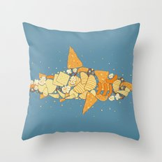 Snack Attack Throw Pillow