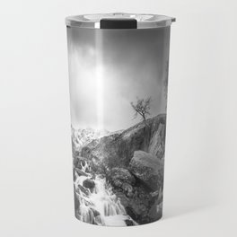 Stormy Mountains Travel Mug