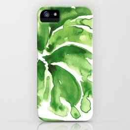 Abstract floral & square #12 iPhone Case