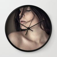 model Wall Clocks featuring Model by Lemnaouer Ahmed Chawki