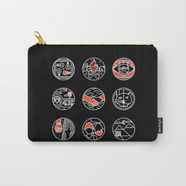 blurry icons II Carry-All Pouch