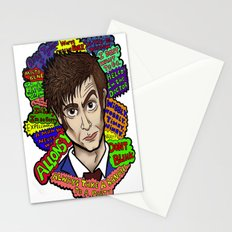 The 10th Doctor Stationery Cards