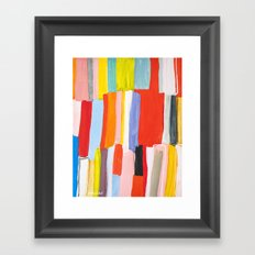 Library Framed Art Print