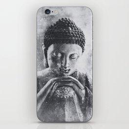 Buddha Grunge iPhone Skin