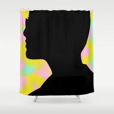 I'm the fury in your head Shower Curtain