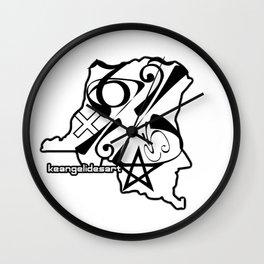 DRC Wall Clock