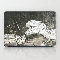 jurassic park iPad Cases featuring Jurassic by Erika Marie Burke