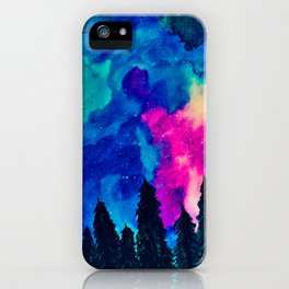 Forest Galaxy iPhone Case