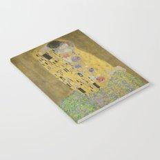 The Kiss - Gustav Klimt Notebook