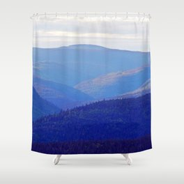 Rolling Hills of the Peninsula Shower Curtain