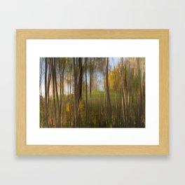 Movement in Nature VII Framed Art Print