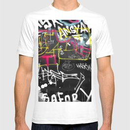 New York Traces - Urban Graffiti T-shirt