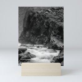 Spring in Krimml, Austria Mini Art Print