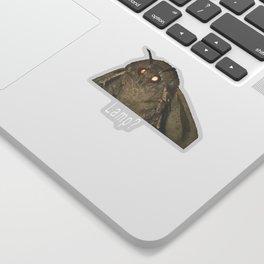 Moth Lamp Meme Sticker