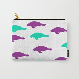 Barbra Manatee Carry-All Pouch