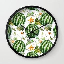 Melon Pattern 05 Wall Clock