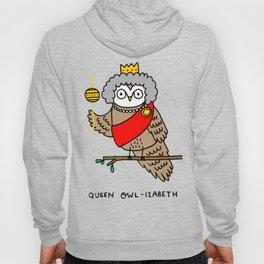 Queen Owl-izabeth Hoody