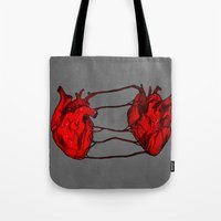 bond Tote Bags featuring Bond by IremYorukoglu