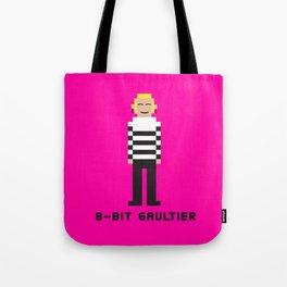 8 Bit Gaultier Tote Bag