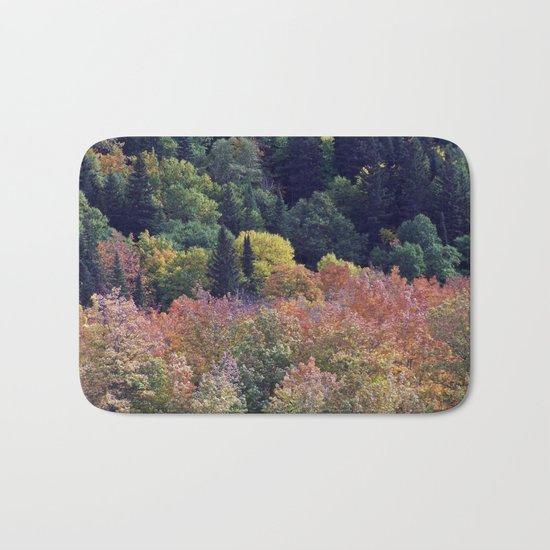 Autumn Hillside Bath Mat