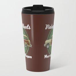 Vintage Wheels: Mercury Wagon Travel Mug