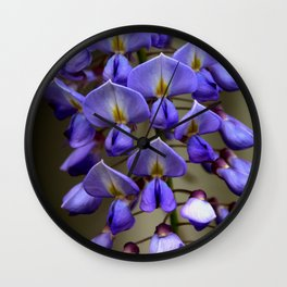 Blue Over You Wall Clock
