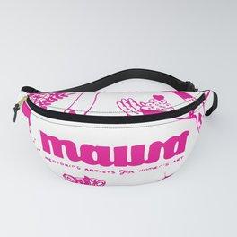 Pink! Sarah Tonin's Design for MAWA Fanny Pack