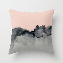 Smoky Quartz Throw Pillow