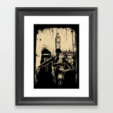 attack this town Framed Art Print
