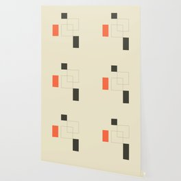 Geometric Abstract Art Wallpaper