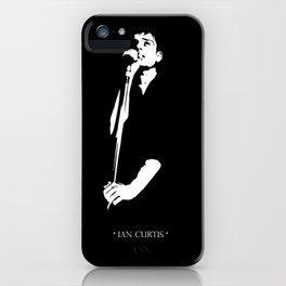 *IAN CURTIS* iPhone Case