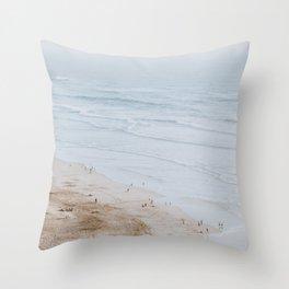 Ocean Beach / San Francisco, California Throw Pillow