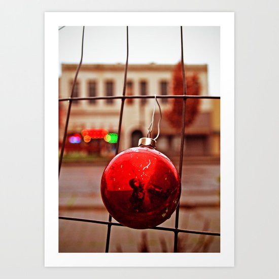 Urban ornament Art Print