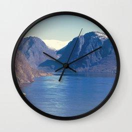 Sognefjord I Wall Clock