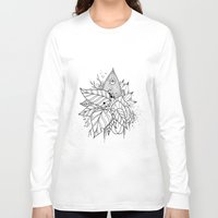 all seeing eye Long Sleeve T-shirts featuring All Seeing Eye by R. Gilbert